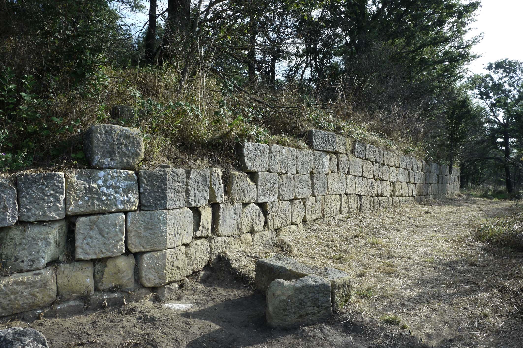 Die Akropolismauer